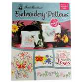 Flowers & Butterflies Iron-On Embroidery Patterns